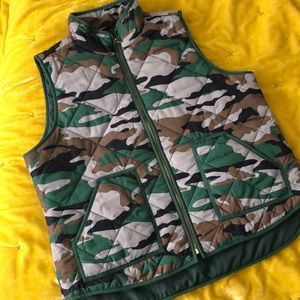🆕Camo Quilted Puffer Vest